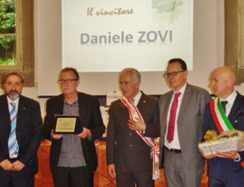 Daniele Zovi ha vinto il premio letterario Vallombrosa
