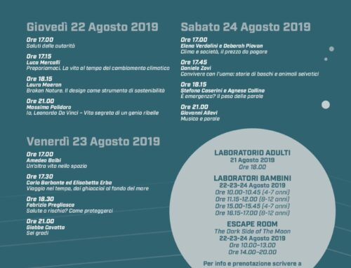 "Daniele Zovi a ""Scienze in Vetta"", festival scientifico di Courmayeur, il 24 agosto"