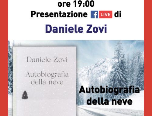 """Diretta Facebook della presentazione del libro """"Autobiografia della neve""""."""