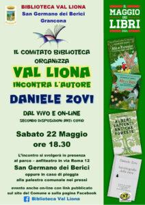 Biblioteca Val Liona - Incontro con lo scrittore Daniele Zovi @ Parco Anfiteatro