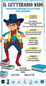 Il Letterario Kids - Incontri animati di letture per bambini